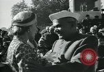 Image of Jawaharlal Nehru at Republic Day parade New Delhi India, 1950, second 33 stock footage video 65675022163