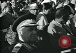 Image of Jawaharlal Nehru at Republic Day parade New Delhi India, 1950, second 37 stock footage video 65675022163