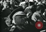 Image of Jawaharlal Nehru at Republic Day parade New Delhi India, 1950, second 39 stock footage video 65675022163