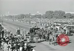 Image of Jawaharlal Nehru at Republic Day parade New Delhi India, 1950, second 40 stock footage video 65675022163