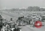 Image of Jawaharlal Nehru at Republic Day parade New Delhi India, 1950, second 42 stock footage video 65675022163