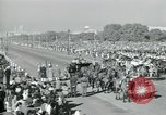 Image of Jawaharlal Nehru at Republic Day parade New Delhi India, 1950, second 43 stock footage video 65675022163