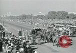 Image of Jawaharlal Nehru at Republic Day parade New Delhi India, 1950, second 44 stock footage video 65675022163
