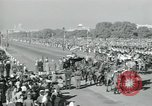 Image of Jawaharlal Nehru at Republic Day parade New Delhi India, 1950, second 45 stock footage video 65675022163