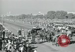 Image of Jawaharlal Nehru at Republic Day parade New Delhi India, 1950, second 46 stock footage video 65675022163