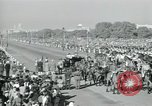 Image of Jawaharlal Nehru at Republic Day parade New Delhi India, 1950, second 47 stock footage video 65675022163