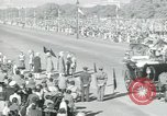 Image of Jawaharlal Nehru at Republic Day parade New Delhi India, 1950, second 51 stock footage video 65675022163