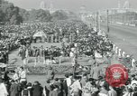 Image of Jawaharlal Nehru at Republic Day parade New Delhi India, 1950, second 54 stock footage video 65675022163