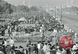 Image of Jawaharlal Nehru at Republic Day parade New Delhi India, 1950, second 55 stock footage video 65675022163