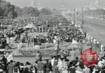 Image of Jawaharlal Nehru at Republic Day parade New Delhi India, 1950, second 56 stock footage video 65675022163