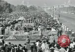Image of Jawaharlal Nehru at Republic Day parade New Delhi India, 1950, second 57 stock footage video 65675022163
