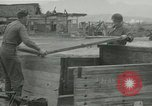 Image of US troops in makeshift shelters during Korean War South Korea, 1951, second 29 stock footage video 65675022170