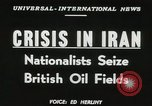 Image of Iranian oil crisis Abadan Iran, 1951, second 13 stock footage video 65675022179