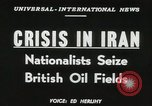 Image of Iranian oil crisis Abadan Iran, 1951, second 16 stock footage video 65675022179