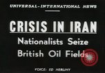 Image of Iranian oil crisis Abadan Iran, 1951, second 17 stock footage video 65675022179