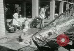 Image of Military Assistance Advisory Group officers and wives Baghdad Iraq, 1956, second 46 stock footage video 65675022186