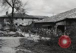 Image of 369 Infantry 93rd Division African American US Army troops Maffrecourt France, 1918, second 5 stock footage video 65675022198