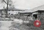 Image of 369 Infantry 93rd Division African American US Army troops Maffrecourt France, 1918, second 6 stock footage video 65675022198