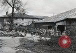 Image of 369 Infantry 93rd Division African American US Army troops Maffrecourt France, 1918, second 8 stock footage video 65675022198
