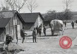 Image of 369 Infantry 93rd Division African American US Army troops Maffrecourt France, 1918, second 20 stock footage video 65675022198