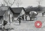 Image of 369 Infantry 93rd Division African American US Army troops Maffrecourt France, 1918, second 21 stock footage video 65675022198