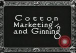 Image of Cotton ginning New Orleans Louisiana USA, 1919, second 2 stock footage video 65675022211
