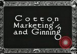 Image of Cotton ginning New Orleans Louisiana USA, 1919, second 4 stock footage video 65675022211