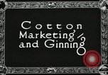 Image of Cotton ginning New Orleans Louisiana USA, 1919, second 6 stock footage video 65675022211