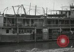 Image of transfer of cotton cargo Memphis Tennessee USA, 1919, second 10 stock footage video 65675022213