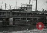 Image of transfer of cotton cargo Memphis Tennessee USA, 1919, second 17 stock footage video 65675022213