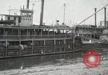 Image of transfer of cotton cargo Memphis Tennessee USA, 1919, second 23 stock footage video 65675022213