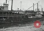 Image of transfer of cotton cargo Memphis Tennessee USA, 1919, second 25 stock footage video 65675022213