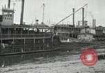 Image of transfer of cotton cargo Memphis Tennessee USA, 1919, second 26 stock footage video 65675022213