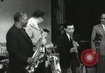 Image of Japanese instrumentalists join the Goodman band Japan, 1957, second 59 stock footage video 65675022215