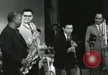 Image of Japanese instrumentalists join the Goodman band Japan, 1957, second 61 stock footage video 65675022215