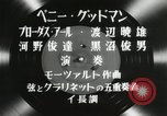 Image of Benny Goodman Japan, 1957, second 17 stock footage video 65675022217