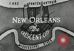 Image of Navigation in crescent city New Orleans Louisiana USA, 1929, second 49 stock footage video 65675022219