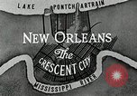 Image of Navigation in crescent city New Orleans Louisiana USA, 1929, second 50 stock footage video 65675022219