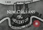 Image of Navigation in crescent city New Orleans Louisiana USA, 1929, second 51 stock footage video 65675022219