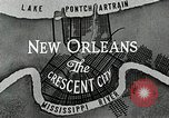 Image of Navigation in crescent city New Orleans Louisiana USA, 1929, second 52 stock footage video 65675022219