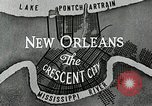 Image of Navigation in crescent city New Orleans Louisiana USA, 1929, second 53 stock footage video 65675022219