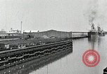 Image of Ship entering the inner harbor canal New Orleans Louisiana USA, 1929, second 20 stock footage video 65675022220