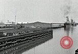 Image of Ship entering the inner harbor canal New Orleans Louisiana USA, 1929, second 22 stock footage video 65675022220