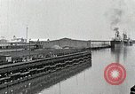 Image of Ship entering the inner harbor canal New Orleans Louisiana USA, 1929, second 23 stock footage video 65675022220