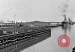 Image of Ship entering the inner harbor canal New Orleans Louisiana USA, 1929, second 24 stock footage video 65675022220