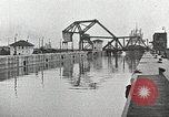 Image of Ship entering the inner harbor canal New Orleans Louisiana USA, 1929, second 25 stock footage video 65675022220