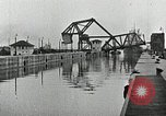 Image of Ship entering the inner harbor canal New Orleans Louisiana USA, 1929, second 28 stock footage video 65675022220