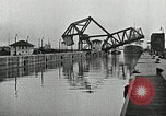 Image of Ship entering the inner harbor canal New Orleans Louisiana USA, 1929, second 31 stock footage video 65675022220