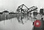 Image of Ship entering the inner harbor canal New Orleans Louisiana USA, 1929, second 34 stock footage video 65675022220