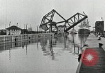 Image of Ship entering the inner harbor canal New Orleans Louisiana USA, 1929, second 37 stock footage video 65675022220